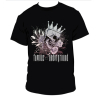 Men's Black Skull / Rose T-shirt