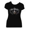 Women's Black Skull / Vines T-shirt